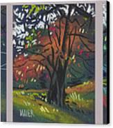 Across The Creek Triplet Canvas Print