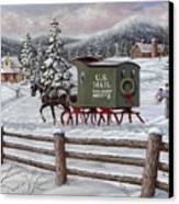 Across The Miles Canvas Print by Richard De Wolfe