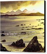 Across To Gigha And Jura Canvas Print
