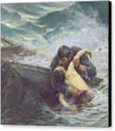 Adieu Canvas Print by Alfred Guillou