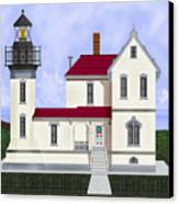 Admiralty Head Light Station Circa 1920 Canvas Print
