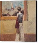 Admiring Turner Canvas Print