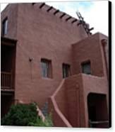 Adobe House At Red Rocks Colorado Canvas Print