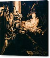 Adoration Of The Shepherds Canvas Print