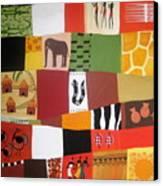 African Matrix Canvas Print