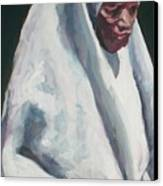 African School Girl Canvas Print
