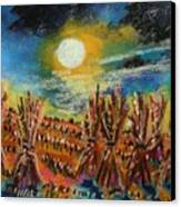 After Harvest Night Canvas Print by John  Williams