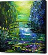 After Monet Canvas Print