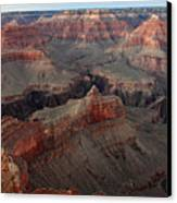 After Sunset Colors In The Grand Canyon Canvas Print by Pierre Leclerc Photography