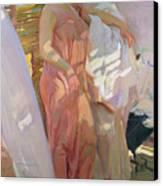 After The Bath Canvas Print by Joaquin Sorolla y Bastida