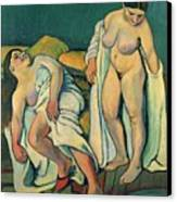 After The Bath Canvas Print by Marie Clementine Valadon