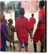 After The Game - Goree Boys Canvas Print