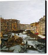 After The Grand Canal Canvas Print