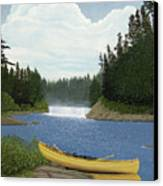 After The Rapids Canvas Print