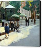 Afternoon In Bryant Park Canvas Print by Tate Hamilton