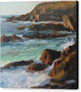 Afternoon Light Point Lobos Canvas Print by Anna Rose Bain