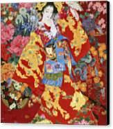 Agemaki Canvas Print by Haruyo Morita
