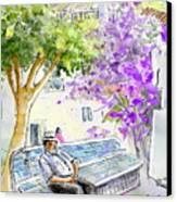 Agua Amarga 11 Canvas Print by Miki De Goodaboom