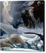Ahasuerus At The End Of The World Canvas Print