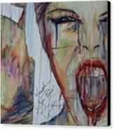 Ahhh Canvas Print by Joseph Lawrence Vasile