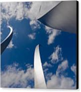 Air Force Memorial Canvas Print by Louise Heusinkveld