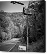 Air Mail Delivery Maine Style Canvas Print by Bob Orsillo