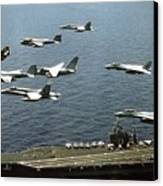 Aircraft Assigned Canvas Print by Everett