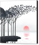 Aki Canvas Print by Cynthia Decker