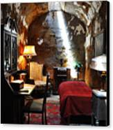 Al Capone's Cell - Eastern State Penitentiary Canvas Print by Bill Cannon