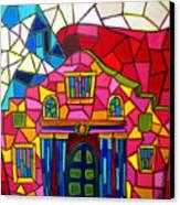 Alamo Mosaic Two Canvas Print by Patti Schermerhorn