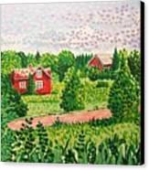 Aland Landscape Canvas Print