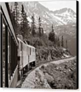 Alaskan Train Canvas Print by Will Edwards