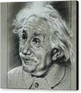 Albert Einstein Canvas Print by Anastasis  Anastasi
