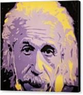 Albert Enstein  Canvas Print