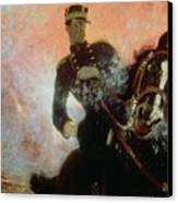 Albert I King Of The Belgians In The First World War Canvas Print by Ilya Efimovich Repin