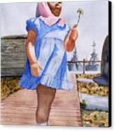 Alene June 14 1949 Canvas Print