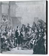 Alessandro Volta 1745-1827 Canvas Print by Everett