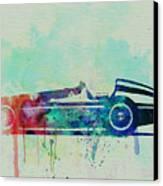 Alfa Romeo Tipo Watercolor Canvas Print by Naxart Studio