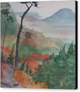 Algoma Morning  Canvas Print