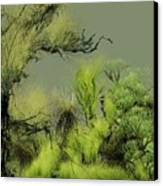 Alien Garden 2 Canvas Print