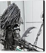 Alien Predator Canvas Print by Yurix Sardinelly