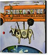 Alien Transport System Canvas Print
