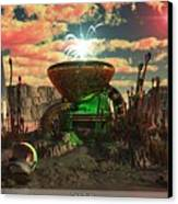 Alien World 2 Canvas Print by Jim Coe