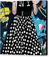 All American Girl Canvas Print