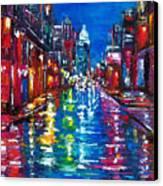 All Night Long Canvas Print