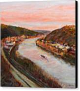 Allegheny Valley Canvas Print by Martha Ressler