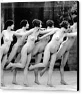 Allen: Chorus Line, 1920 Canvas Print by Granger