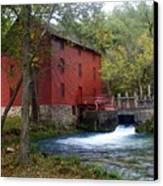 Alley Sprng Mill 3 Canvas Print by Marty Koch