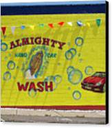 Almighty Car Wash Canvas Print by David Kyte