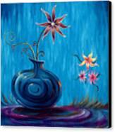 Aloha Rain Canvas Print by Jennifer McDuffie